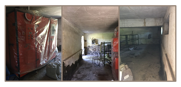 Renovation of space for dehydration equipment at Dzorak