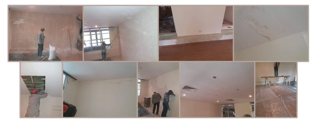 Playroom renovations under way at Tsaghgadzor Camp funded by SOAR New York