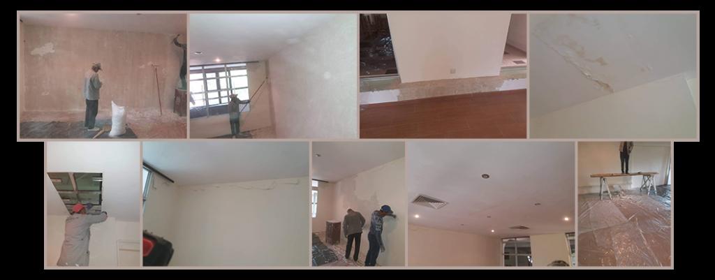 Playroom renovations under way at Tsaghgadzor Camp funded by SOAR New York