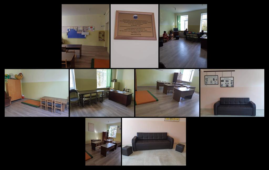 Nubarashen classrooms and 2 new sofas