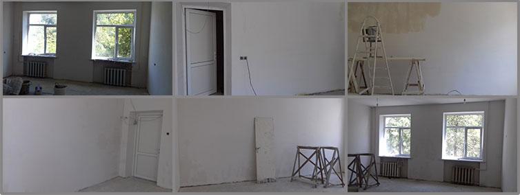 Classroom renovations at Nubarashen