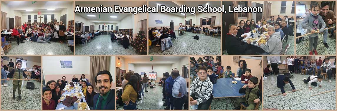 Armenian Evangelical Boarding School Christmas (Lebanon)