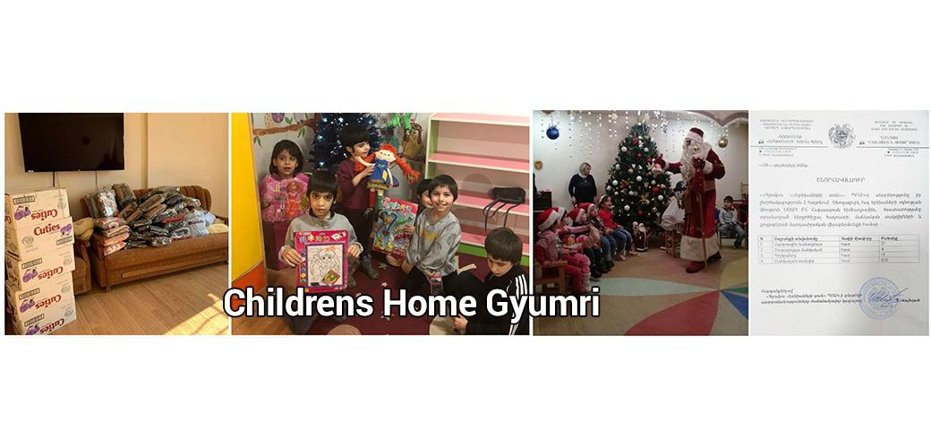 Childrens Home Gyumri Christmas celebration 2020