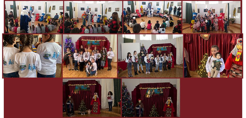 SOS Village Kotayk Christmas celebration, housing displaced Artsakh families