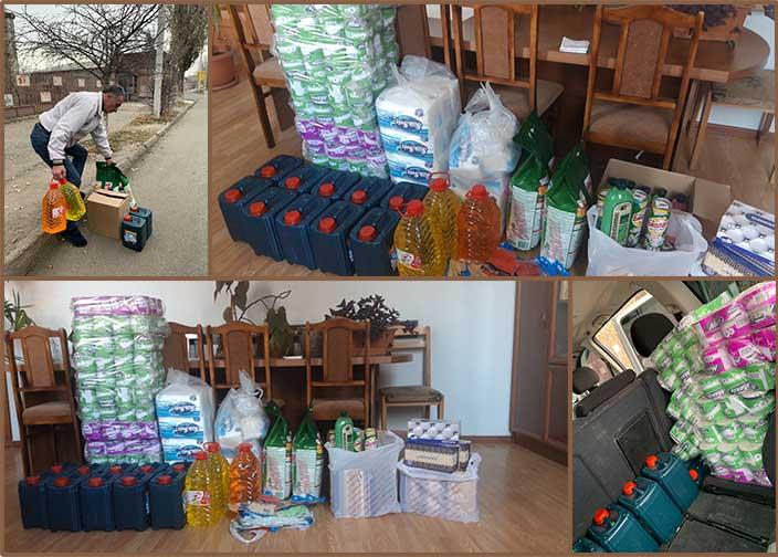 Hygiene supplies for Nansen Boarding School