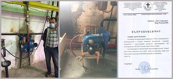 Boiler repairs for Kharberd