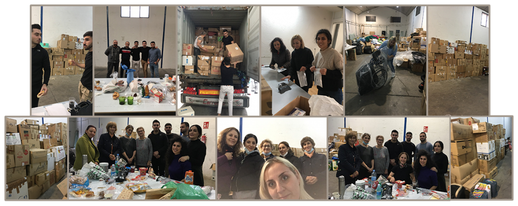 Sea container for Artsakh relief - SOAR Madrid