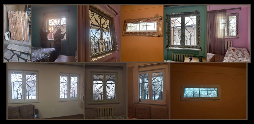 New windows for Warm Hearth